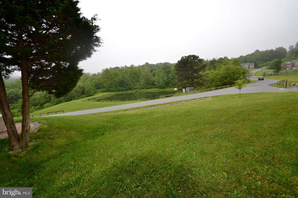 View from your porch! - 13878 POND VIEW LN, MERCERSBURG