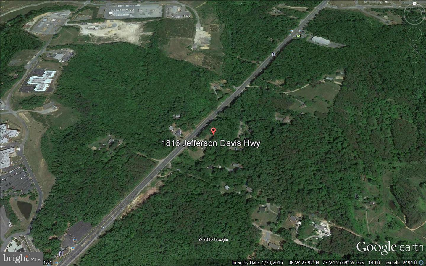 Land for Sale at 1816 Jefferson Davis Hwy Stafford, Virginia 22554 United States