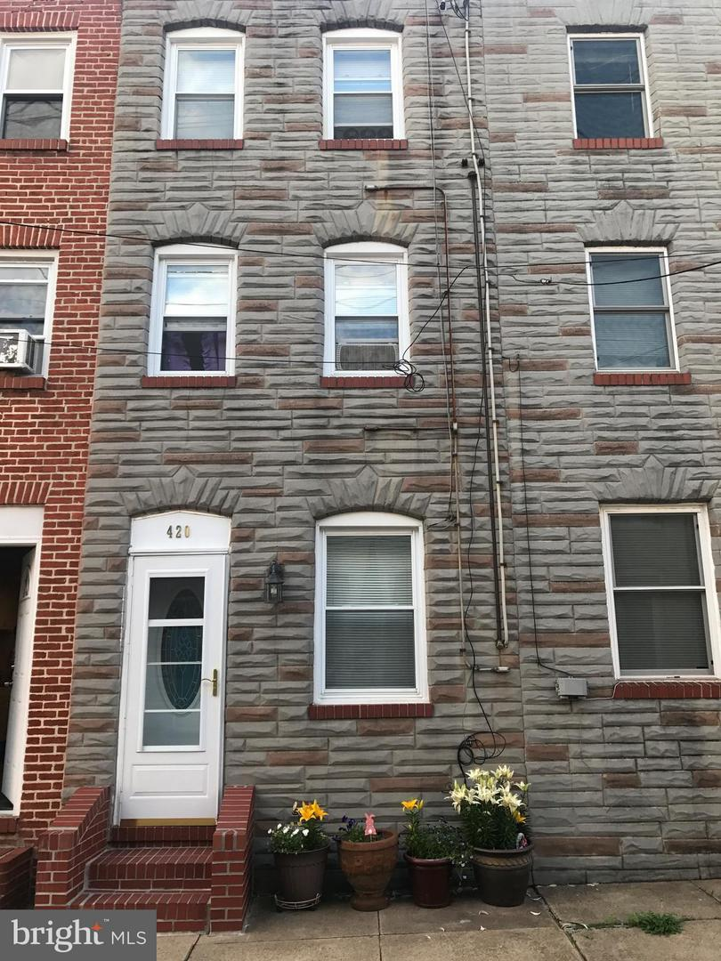 Single Family for Sale at 420 Durham St S Baltimore, Maryland 21231 United States