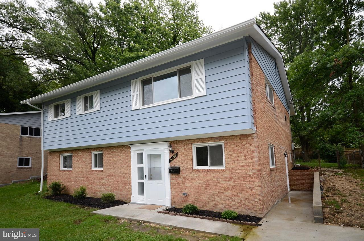 Single Family for Sale at 6007 Ladd Rd Suitland, Maryland 20746 United States