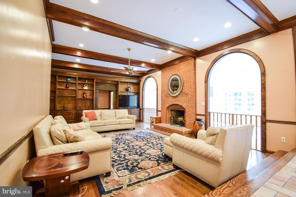 Living Room - 9811 HAMPTON RD, FAIRFAX STATION