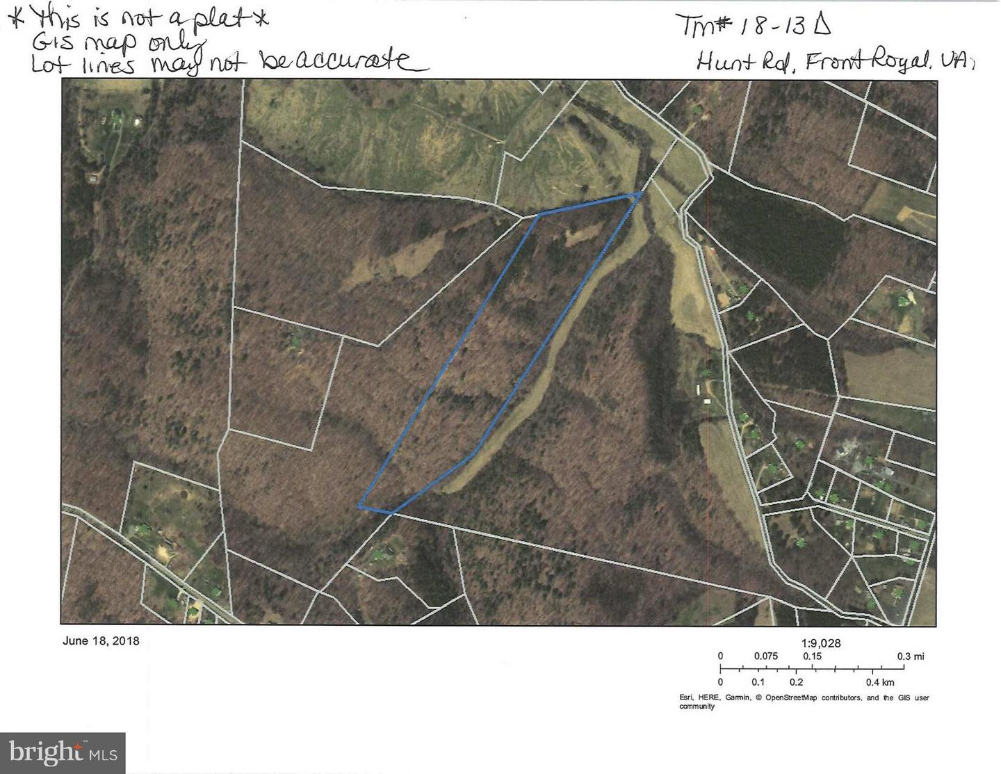 Land for Sale at Lot 2-A Hunt Rd Front Royal, Virginia 22630 United States