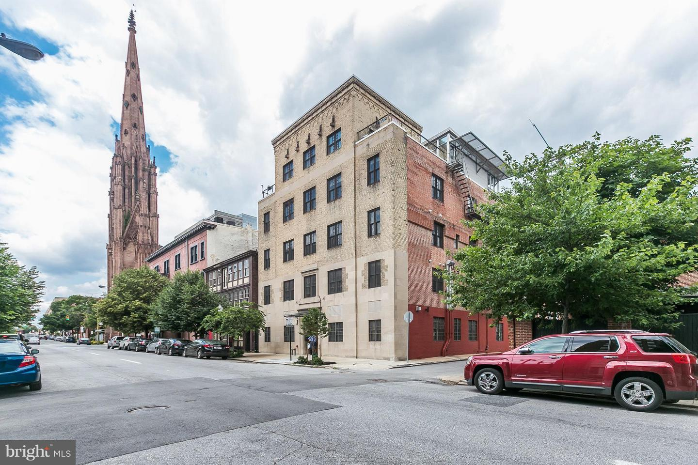 Photo of home for sale at 104 Madison Street, Baltimore MD