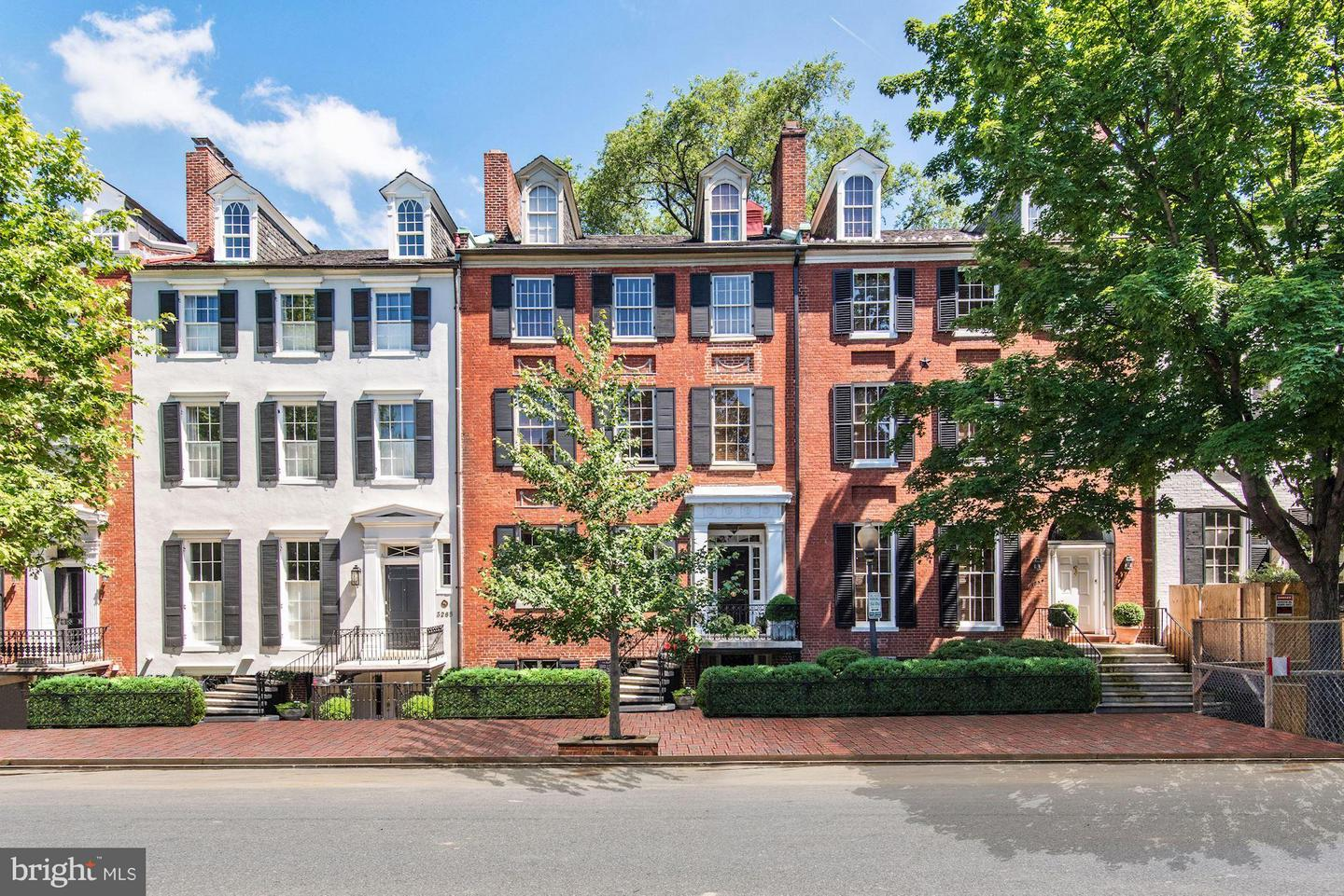 Single Family Home for Sale at 3263 N St Nw 3263 N St Nw Washington, District Of Columbia 20007 United States