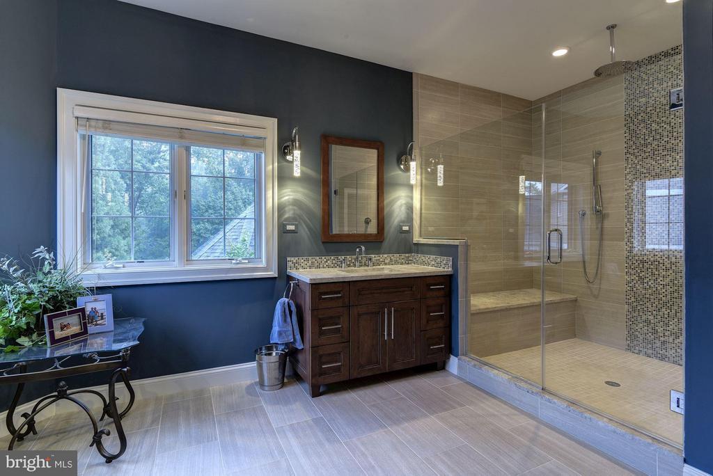 Master Bath - 8633 FENWAY RD, BETHESDA