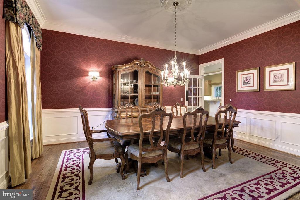 Dining Room - 8633 FENWAY RD, BETHESDA