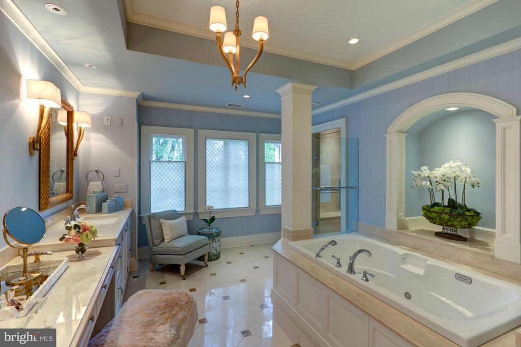 Master Bathroom - 2509 FOXHALL RD NW, WASHINGTON