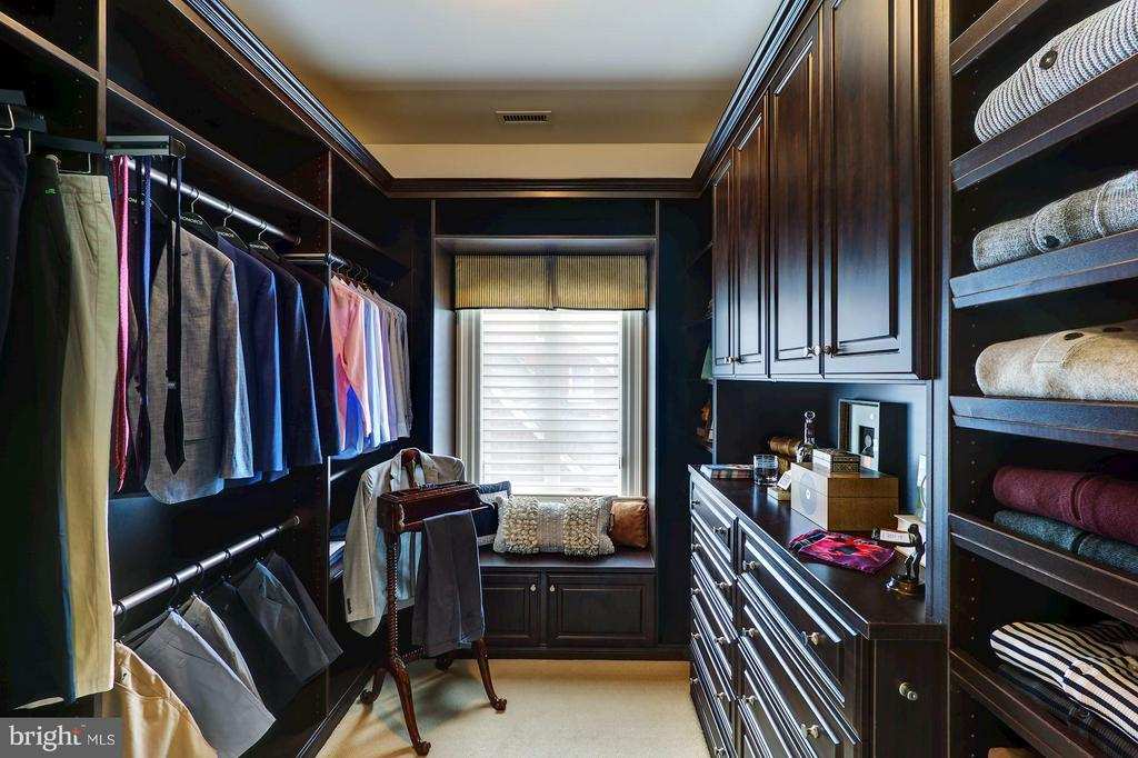 Walk-In Closet - 2509 FOXHALL RD NW, WASHINGTON