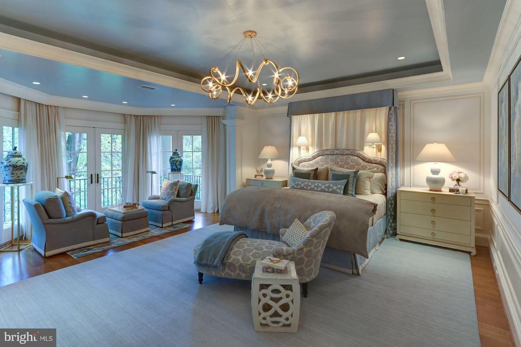 Master Bedroom - 2509 FOXHALL RD NW, WASHINGTON