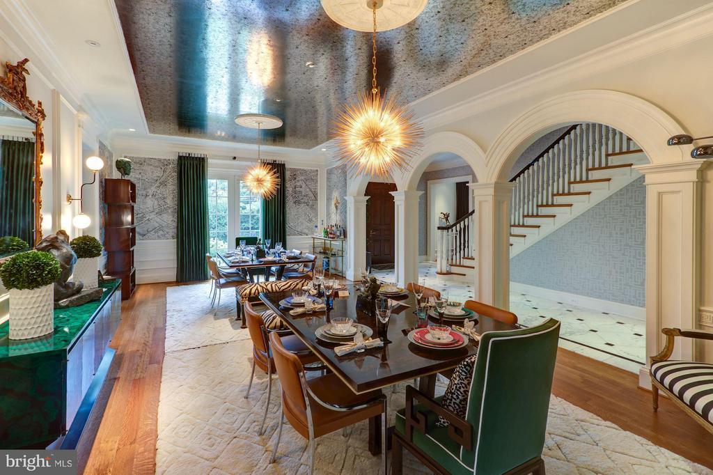 Dining Room - 2509 FOXHALL RD NW, WASHINGTON