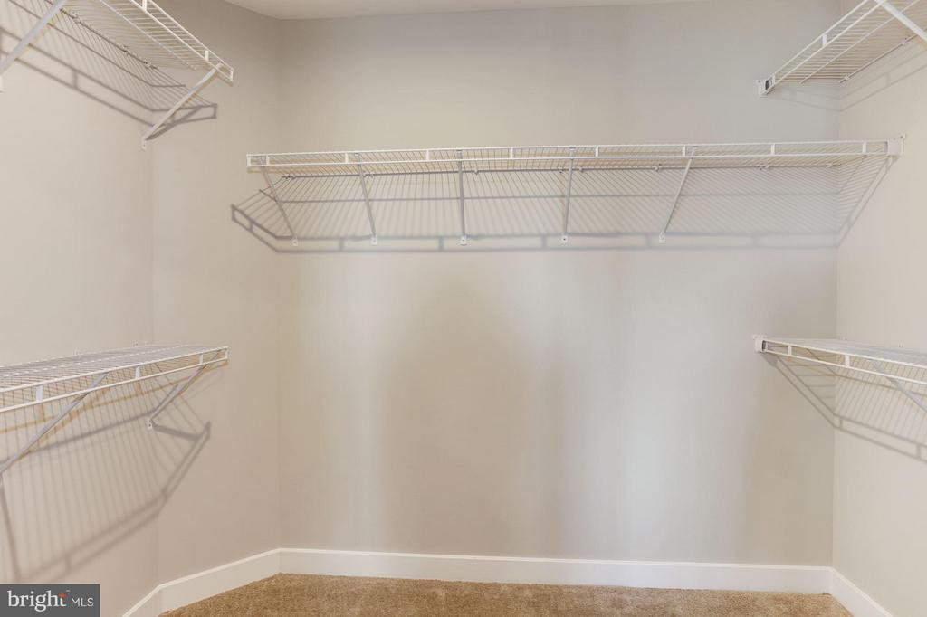Owner's Suite Walk-in Closet - 5605 RICHMANOR TER #F, UPPER MARLBORO