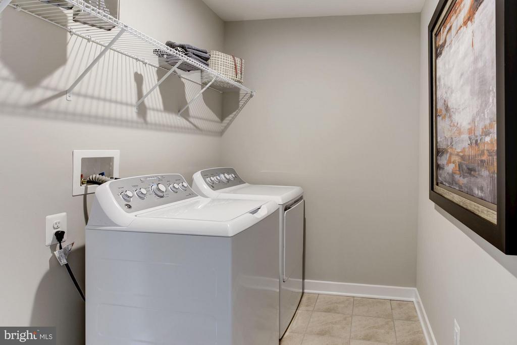 Laundry Room Bedroom Level - 5605 RICHMANOR TER #F, UPPER MARLBORO