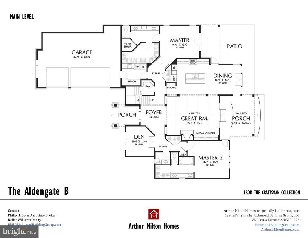 IMain Level Floor Plan - BRENTHEM FARM RD, FREDERICKSBURG