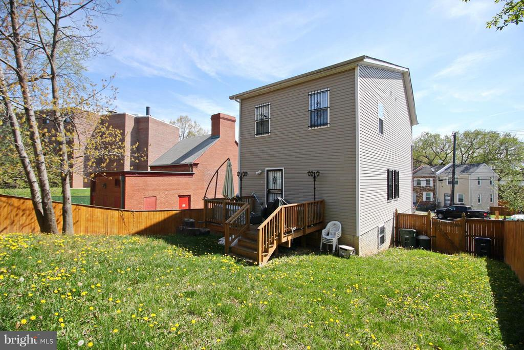 Exterior (Rear) - 3431 23RD ST SE, WASHINGTON