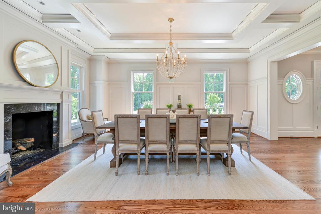 Dining Room - 8437 SPARGER ST, MCLEAN