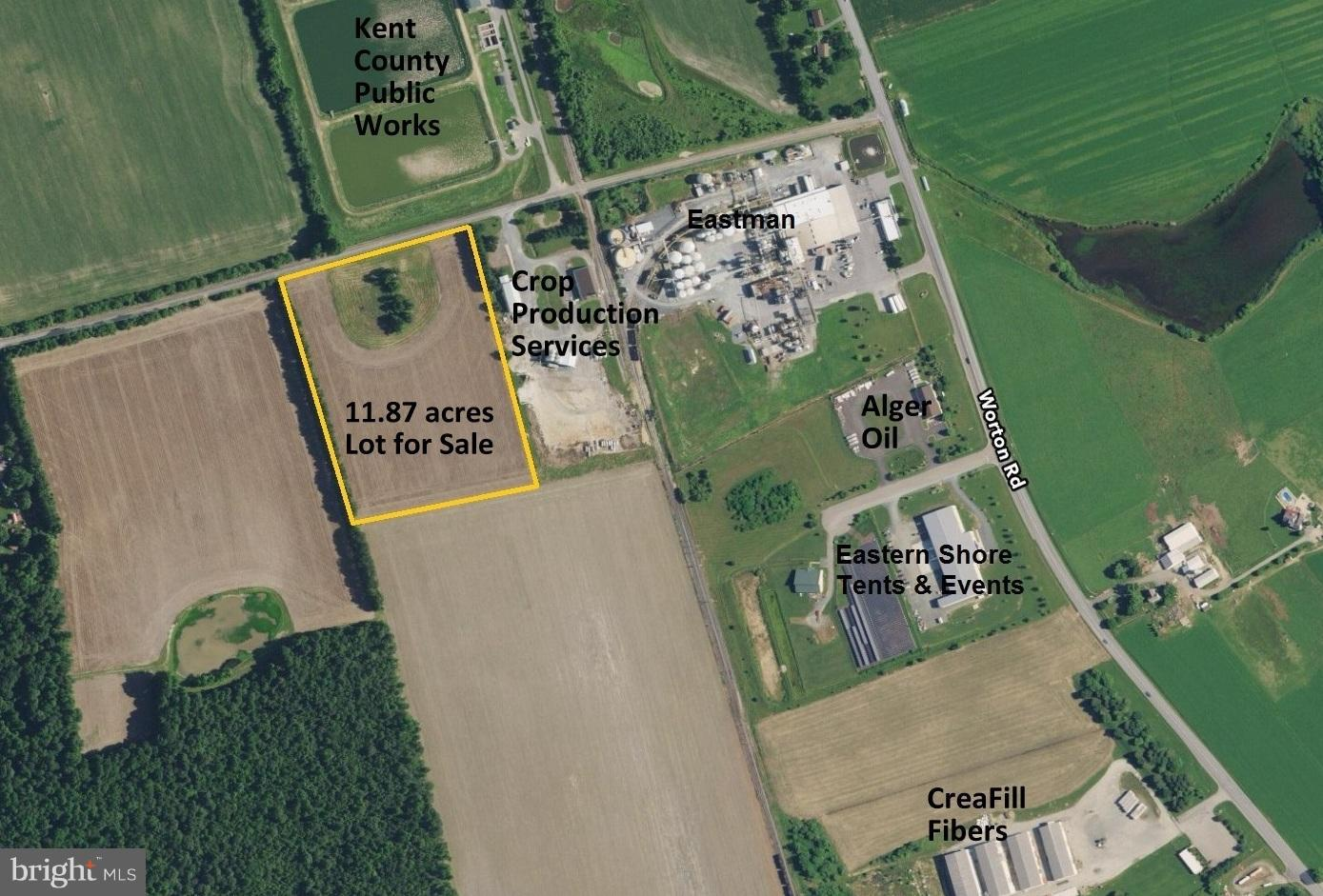 Commercial for Sale at 0 Chinquapin Rd Worton, Maryland 21678 United States