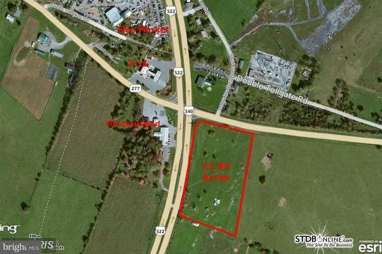 Commercial for Sale at 0 Front Royal Pike/rR 330 552 White Post, Virginia 22663 United States
