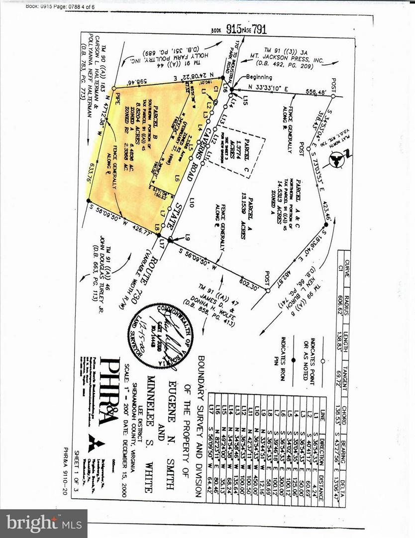 Land for Sale at Not On File Mount Jackson, Virginia 22842 United States