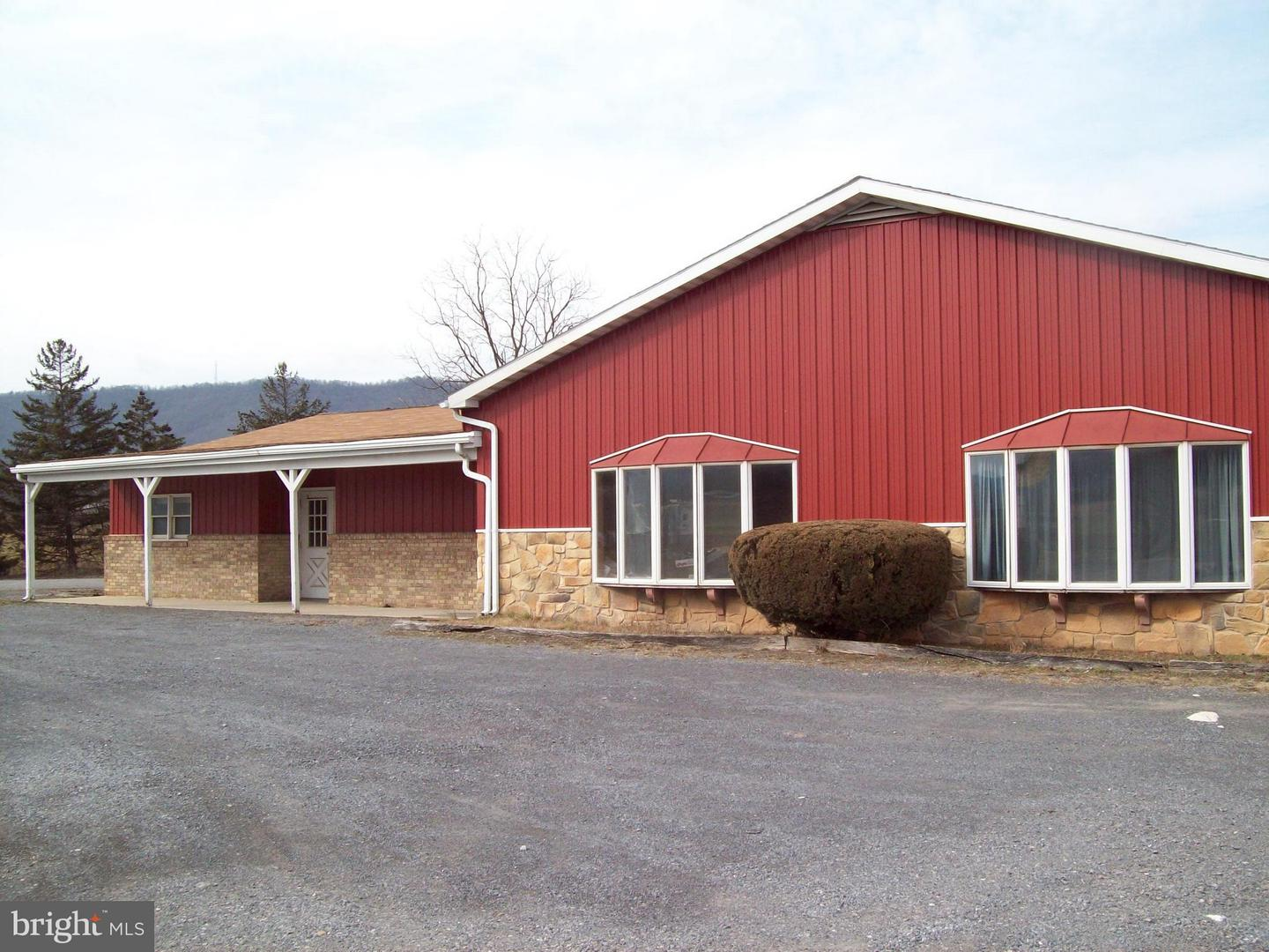 Commercial for Sale at 12625 Path Valley Rd Willow Hill, Pennsylvania 17271 United States