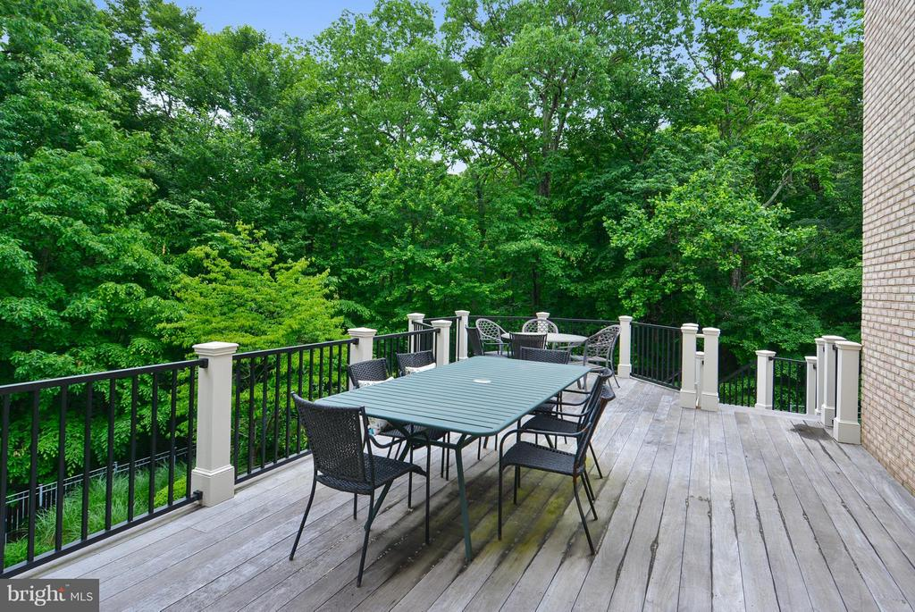 Deck View - 11258 SOMMERSWORTH CT, STERLING