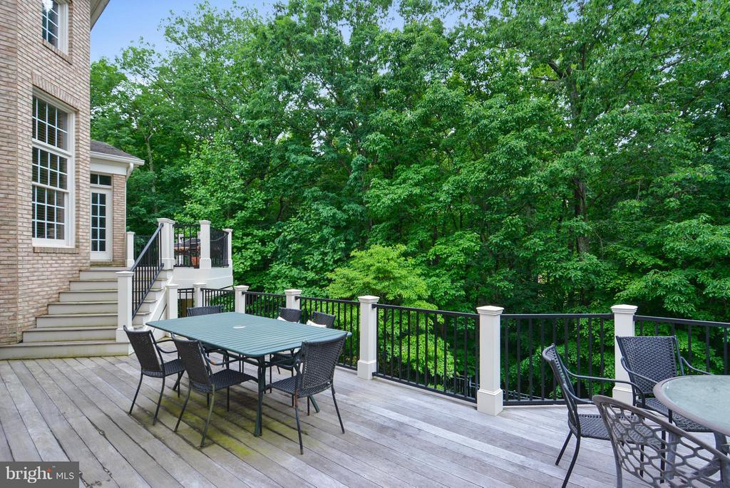 Views from Main Level Deck - 11258 SOMMERSWORTH CT, STERLING