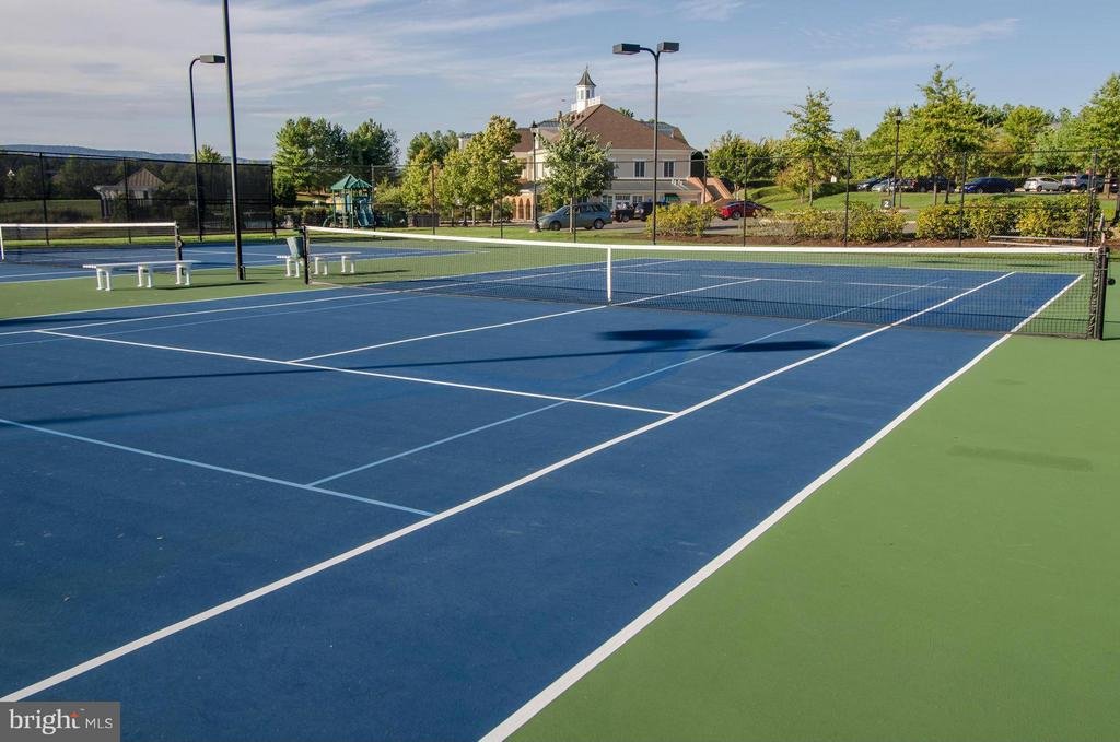 Community Tennis Courts - 15530 CHILLMARK CT, HAYMARKET