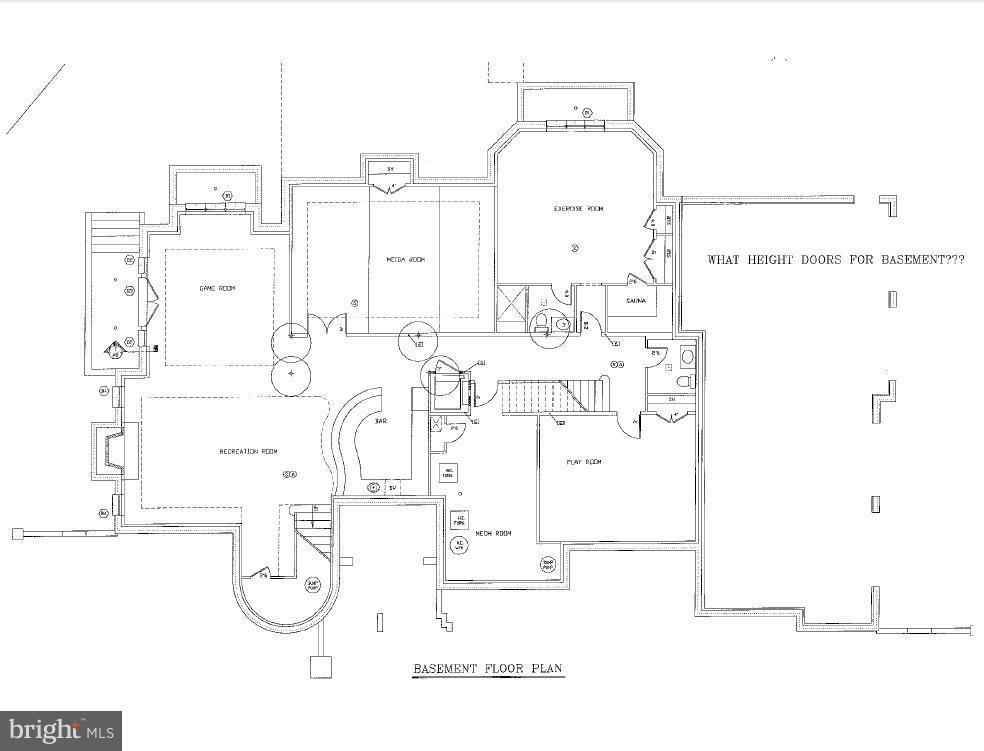 Lower Level Floor Plan - 8627 DIXIE PL, MCLEAN