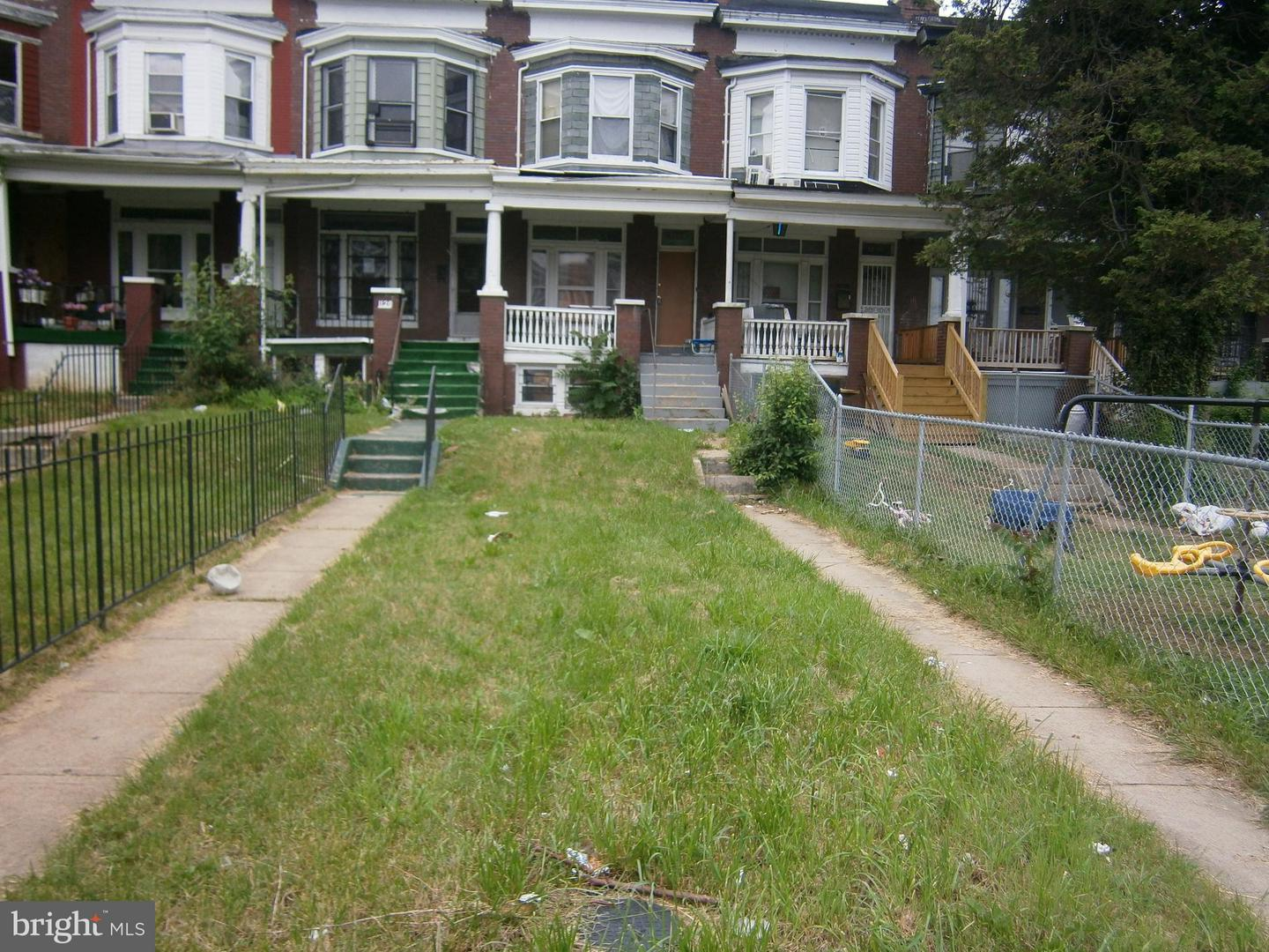 Photo of home for sale at 1128 Poplar Grove Street, Baltimore MD