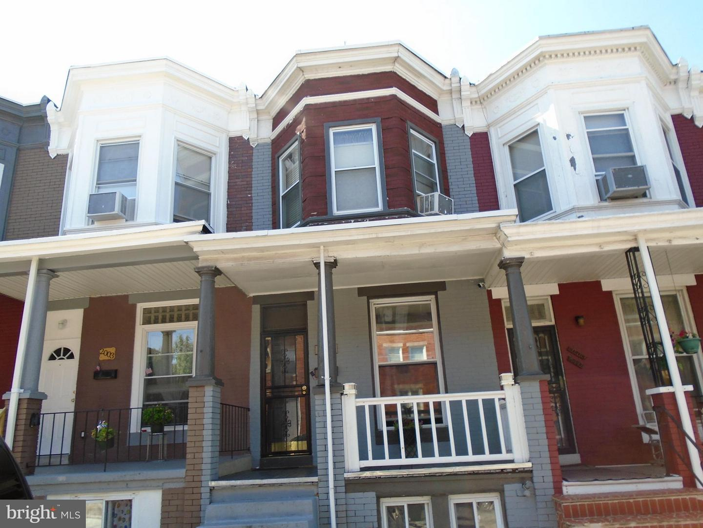Photo of home for sale at 2005 Lexington Street W, Baltimore MD