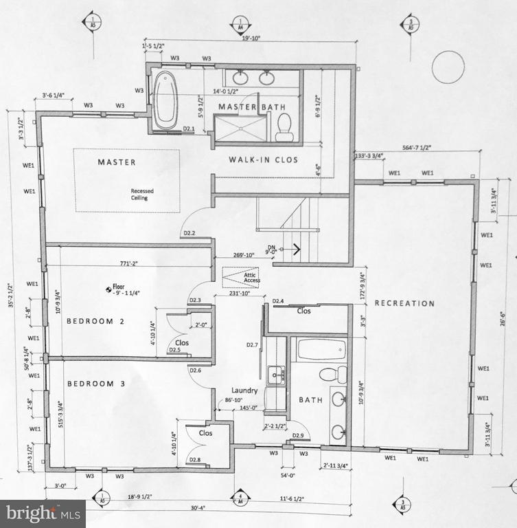 2nd Level Proposed Floor Plan (2) - 813 QUINCY ST S, ARLINGTON