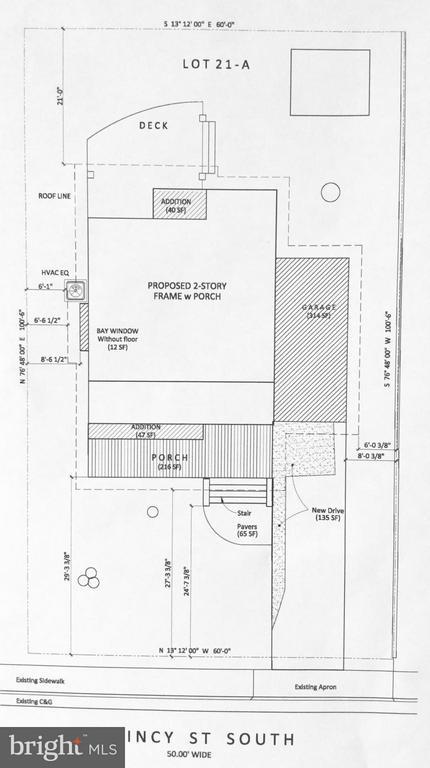 Property Layout - 813 QUINCY ST S, ARLINGTON