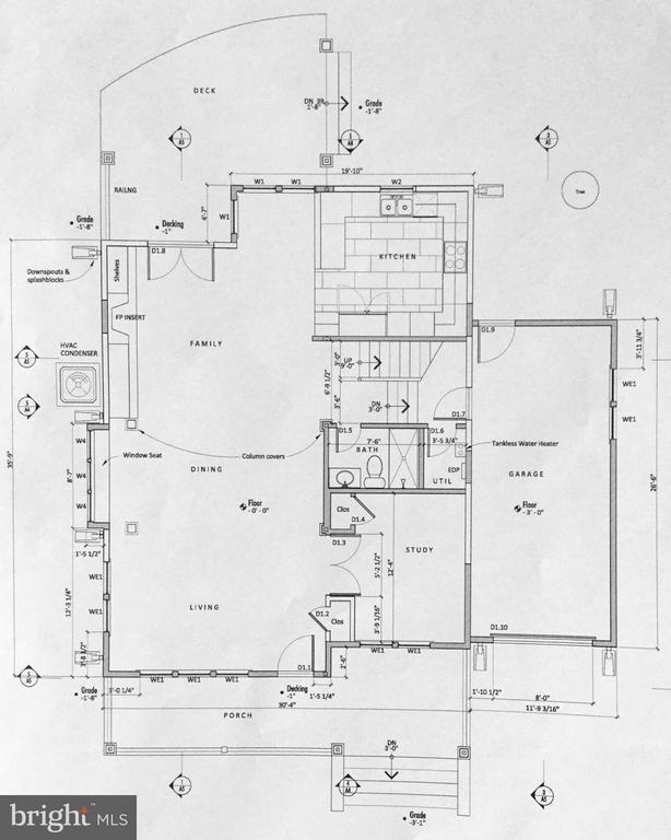1st Level Proposed Floor Plan - 813 QUINCY ST S, ARLINGTON