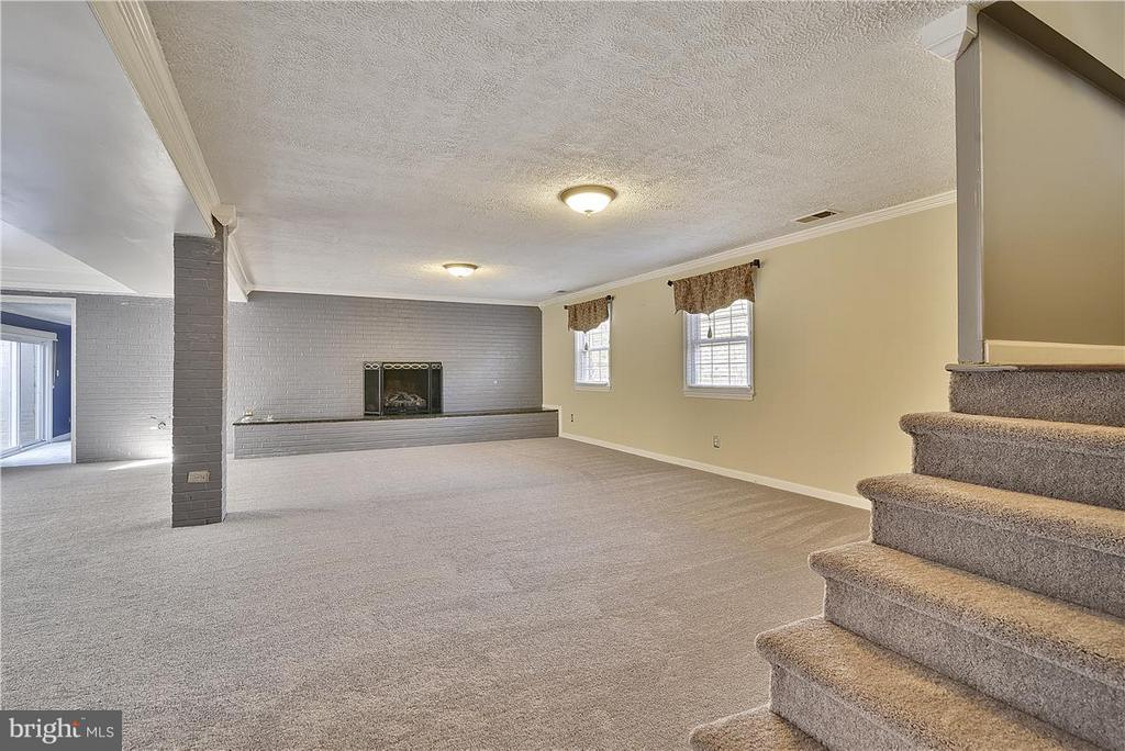 Family Room with New Carpet ! - 6807 SPRINGFIELD DR, LORTON
