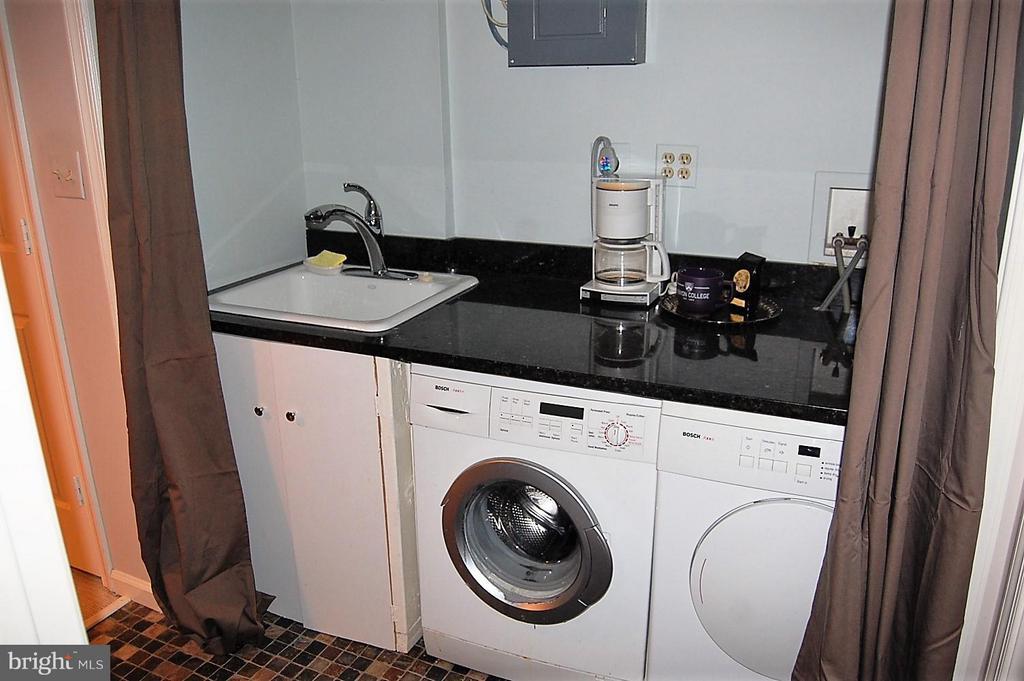 Lower level laundry - 5308 WRILEY RD, BETHESDA