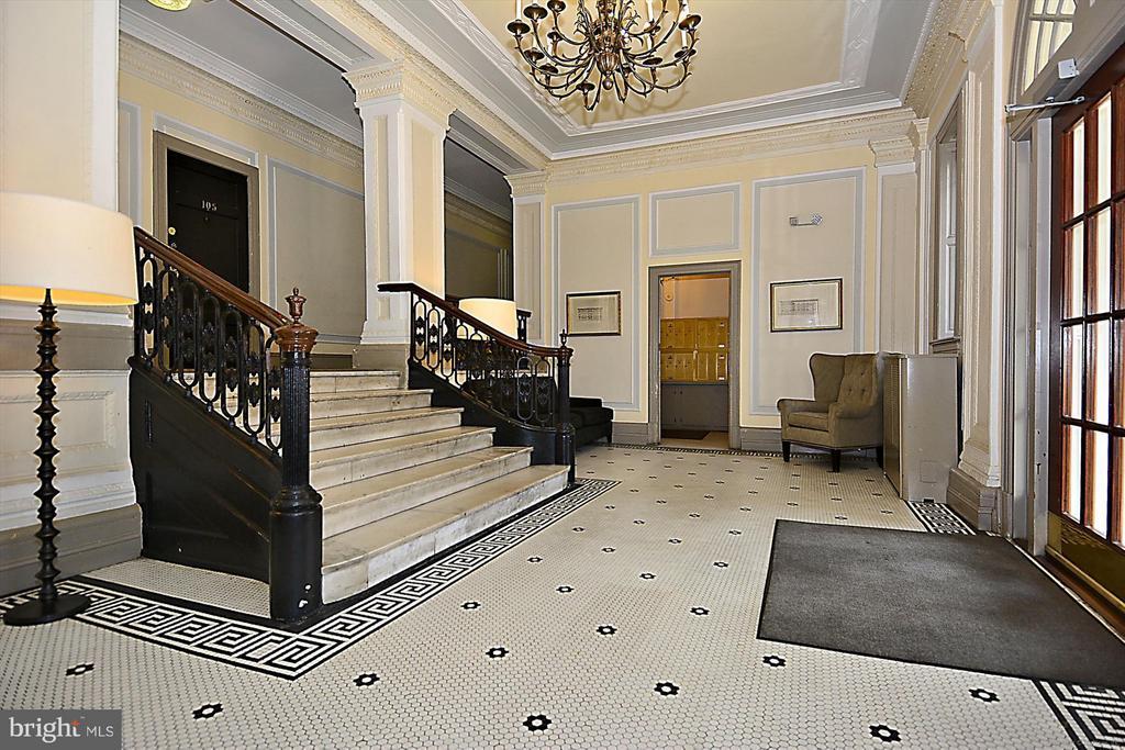 Lobby Entrance - 1526 17TH ST NW #115, WASHINGTON