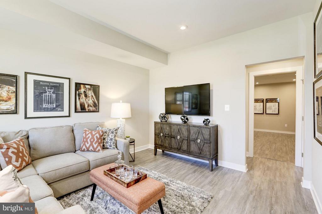 Family Room - 4910 CREST VIEW DR #106C, HYATTSVILLE