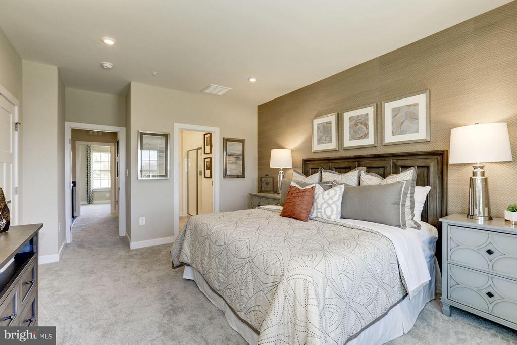 Bedroom (Master) - 4910 CREST VIEW DR #106C, HYATTSVILLE