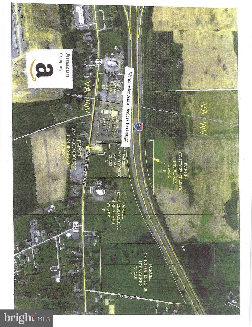 Land for Sale at Not On File Clear Brook, Virginia 22624 United States