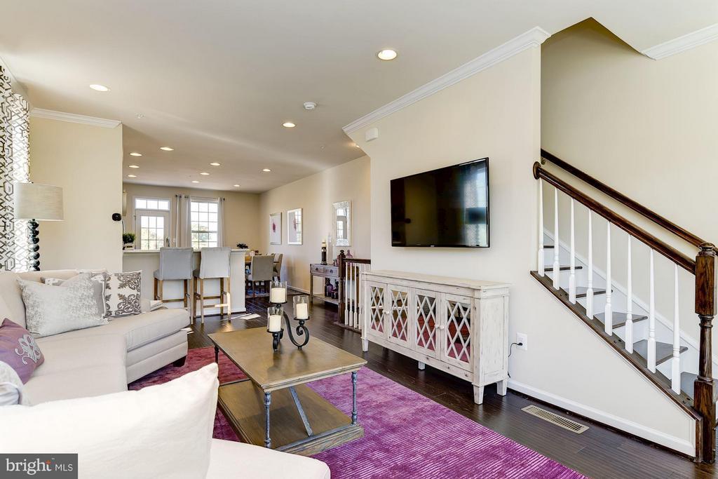 Family Room - 9938 VISTA POINTE DR #206D, UPPER MARLBORO