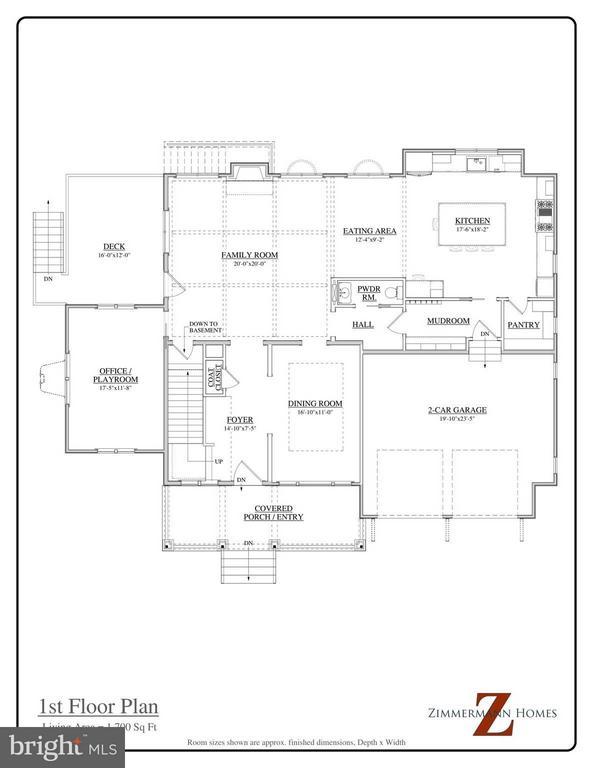 Main level - 114 JEFFERSON ST E, FALLS CHURCH