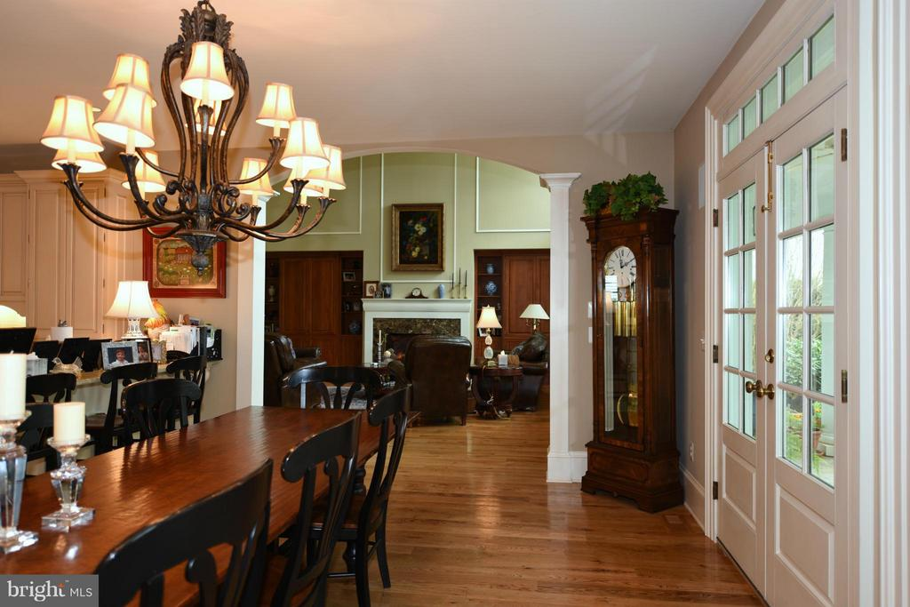 View to Living Room - 96 LYLE LN, AMISSVILLE