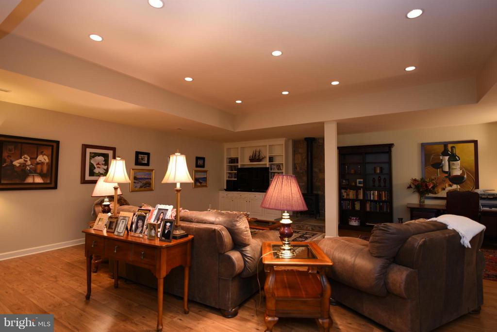 Lower Level Media Room - 96 LYLE LN, AMISSVILLE