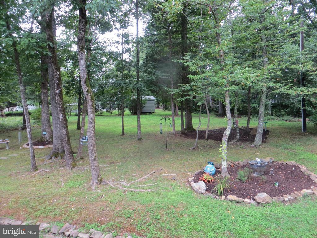 View of Backyard - 119 PATRICK HENRY CT, LOCUST GROVE