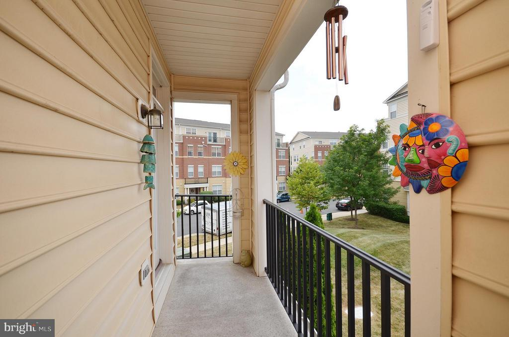 Beautiful Balcony off the Master Bedroom - 42603 HIGHGATE TER, ASHBURN