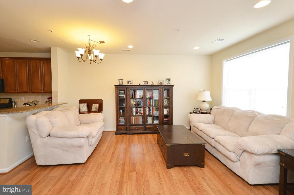 Spacious Family Room with Large Double Windows - 42603 HIGHGATE TER, ASHBURN