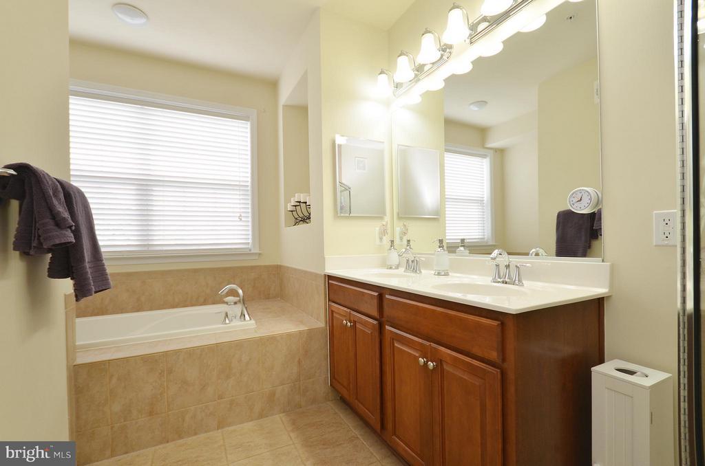 Luxury Master Bathroom with Ceramic Tile - 42603 HIGHGATE TER, ASHBURN