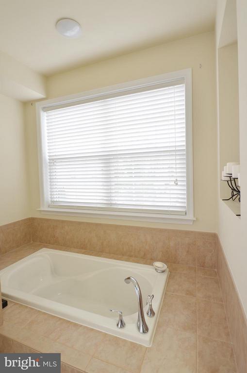 Luxury Master Bathroom with Large Soaking Tub - 42603 HIGHGATE TER, ASHBURN