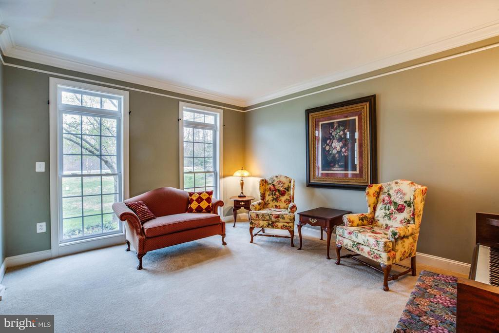 Floor to Ceiling Windows with Transoms Above - 12910 MACNEIL CT, FREDERICKSBURG