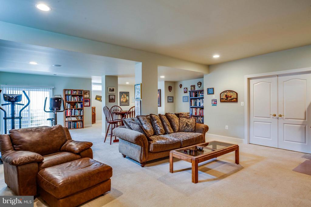 Fully Finished Basement with Recreation Room - 12910 MACNEIL CT, FREDERICKSBURG