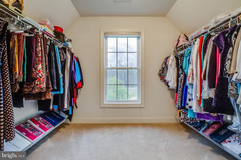 Master has 2 Walk in Closets, 3 Closets Total - 12910 MACNEIL CT, FREDERICKSBURG